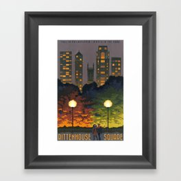 Rittenhouse Square Framed Art Print