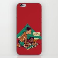 caleb troy iPhone & iPod Skins featuring Troy & Abed's Dope Adventures by Megan Lara
