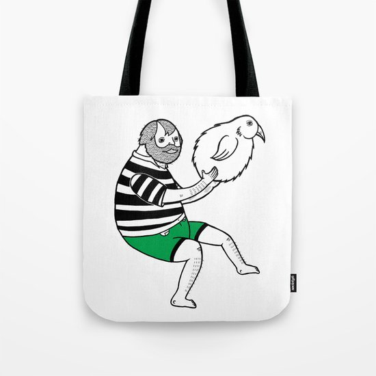 On the strange and controversial topic of bird bowling Tote Bag