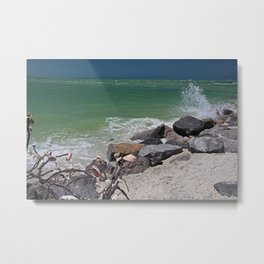 Chronic Seaside Celebration Metal Print