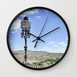 View from Priego de Cordoba Wall Clock