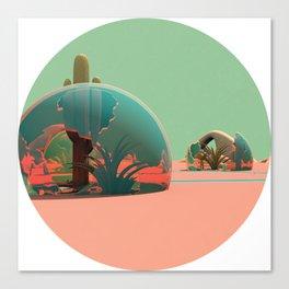 Desert Domes Canvas Print