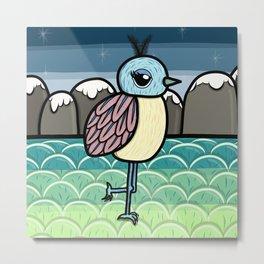Gerrit the Paradise Bird Metal Print