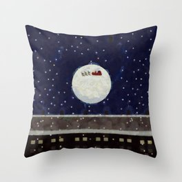 Midnight Run Throw Pillow