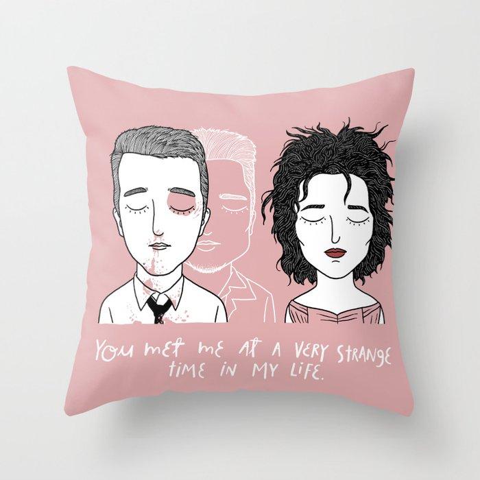 T & M Throw Pillow