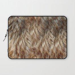 Alaska Faux Fur Laptop Sleeve