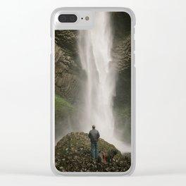 Latourell Falls // Columbia River Gorge, Oregon Clear iPhone Case
