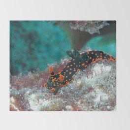 Delightful Nudibranch Throw Blanket