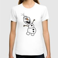 olaf T-shirts featuring Olaf by Mark Carrione Graphics