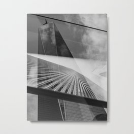 World Trade Center(s) Metal Print