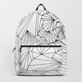 ROUND AND ROUND WE GO DOWN THE RABBIT HOLE IN THE FRACTAL UNIVERSE! Backpack
