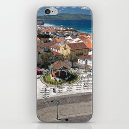 City in Azores islands iPhone Skin