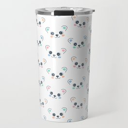 Cute Bear Cub Face Travel Mug