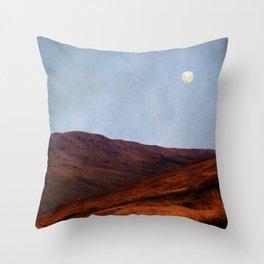 Moon Over Rannoch Throw Pillow