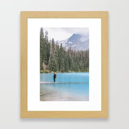 Joffre Lake   Canada Framed Art Print