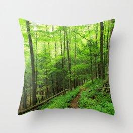 Forest 6 Throw Pillow