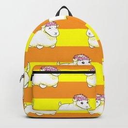 Golden Mr. Fluffs Backpack