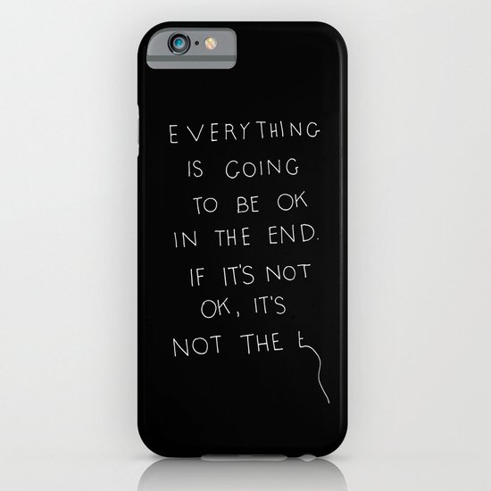 It Is OK iPhone & iPod Case