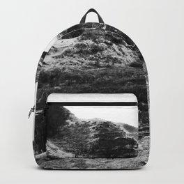 Road through Fairy Glen - B/W Backpack