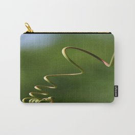 Spring Shaped Passion Flower Tendril  Carry-All Pouch