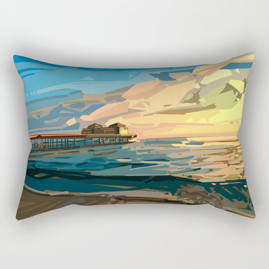 summer beach 1 Rectangular Pillow