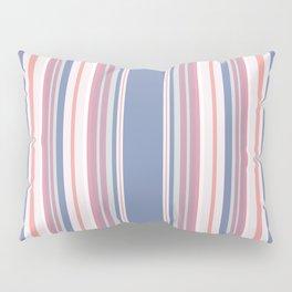 Vintage salmon vertical stripes pattern Pillow Sham