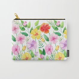 Flowers (collage) Carry-All Pouch
