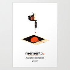 memento. Art Print