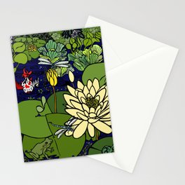 Garden Pond Stationery Cards