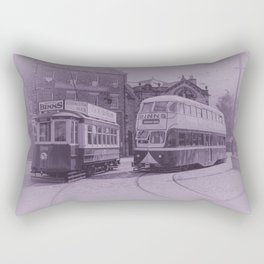 Classic Trams Rectangular Pillow