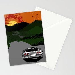 Trip  on  a  Silver  Desire Stationery Cards