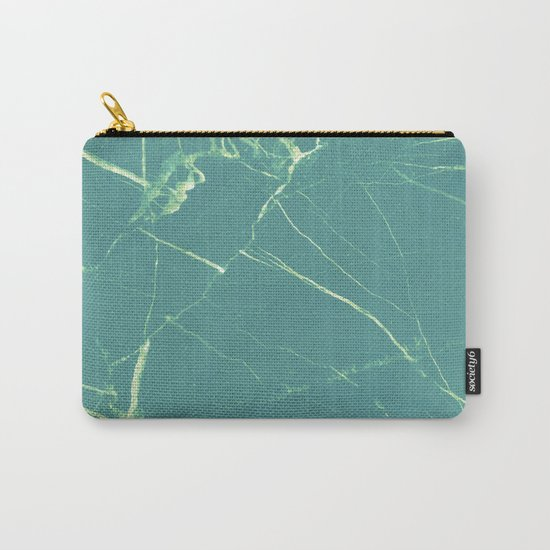 Turquoise Marble #society6 #buyart #decor Carry-All Pouch