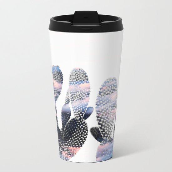 Pastelle Cacti Metal Travel Mug