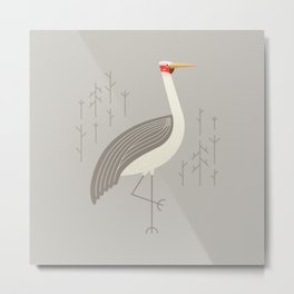 Brolga, Bird of Australia Metal Print