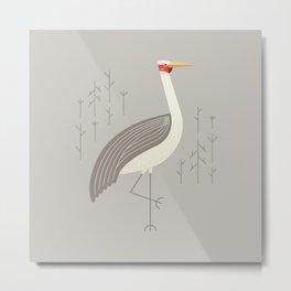Brolga, Bird of Australia Metal Print