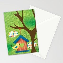BIRD HOUSE Stationery Cards