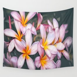 Plumeria Wall Tapestry