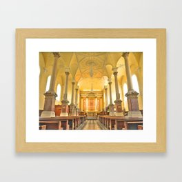 Christchurch Cathedral Interior, Waterford City, Ireland Framed Art Print