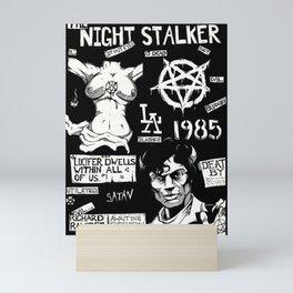 sk555 Nightstalker bnw Mini Art Print