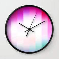 Raspberry Delight Wall Clock