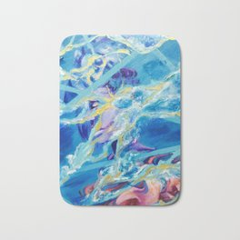 girls like girls and boys Bath Mat