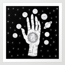 Cosmic Energy  Art Print