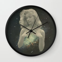 The heart is a lonely hunter Wall Clock