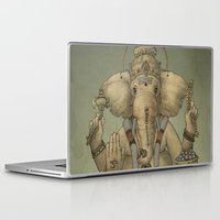 ganesha Laptop & iPad Skins featuring Ganesha by Sumi Senthi