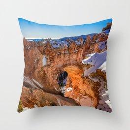 Natural_Bridge 8573 - Bryce_Canyon National_Park, Utah Throw Pillow