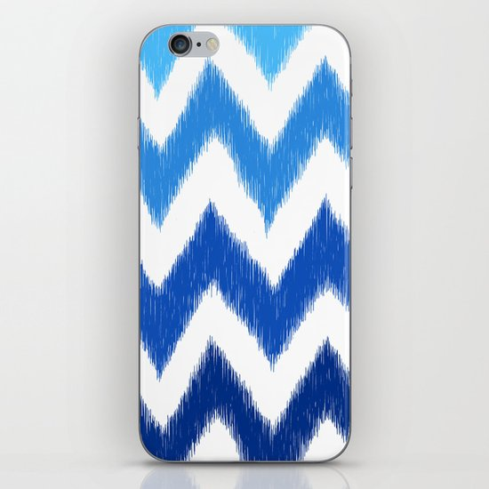 Ombre Ikat Chevron  iPhone & iPod Skin