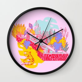 jungle Fever I Wall Clock