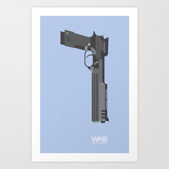 ROBOCOP's Gun Art Print