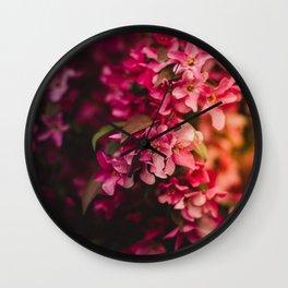 Beauty of Spring I Wall Clock