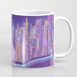 Saturnian Ultraviolet Wave Two Coffee Mug